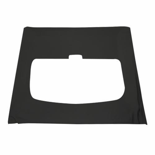 Mustang Suede Headliner w/ ABS Board Black (85-92) Hatchback w/Sunroof - Mustang Suede Headliner w/ ABS Board Black (85-92) Hatchback w/Sunroof