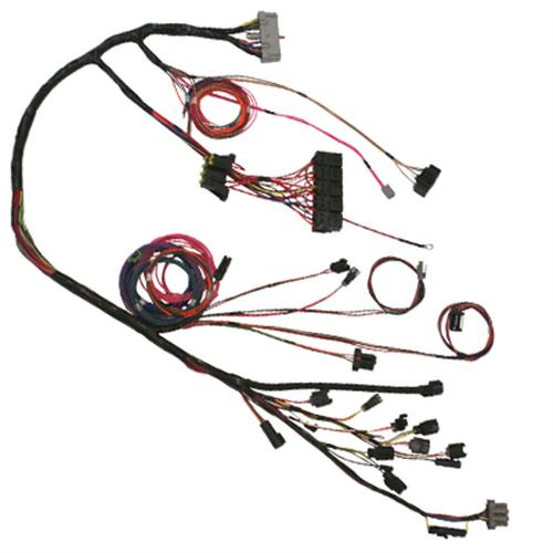 1984 86 mustang 2 3 turbo svo engine wiring harness by 5 0 resto 1970 Mustang Wire Harness