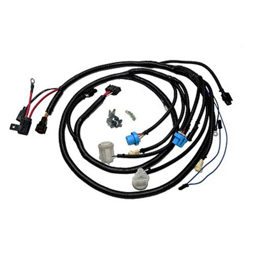 lrs 8790hwh_1825 mustang replacement front light harness (87 90) fh 075 88 Mustang at crackthecode.co
