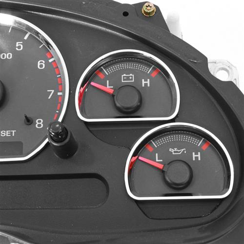 Mustang Chrome Gauge Trim Kit (94-04)
