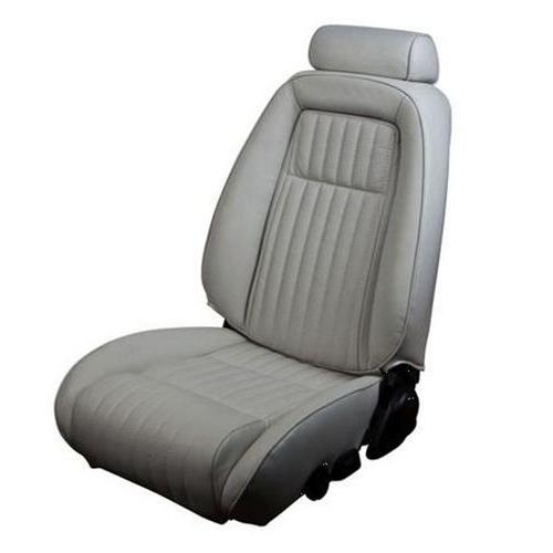TMI Mustang Sport Seat Upholstery Titanium Gray (90-91) Coupe