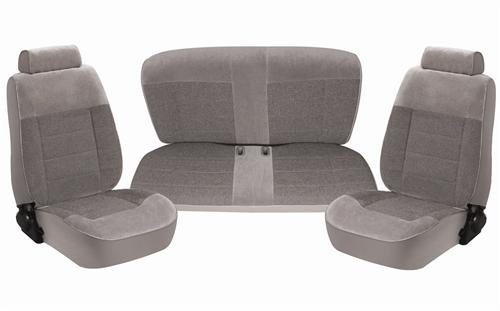 Acme Mustang Seat Upholstery Titanium Gray (90-92) Hatchback