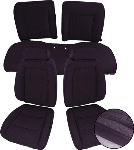 Mustang Interior Kit w/ Sport Seats Black (92-93) Convertible