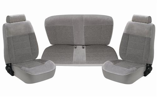Mustang Seat Upholstery Opal Gray (1993) Coupe