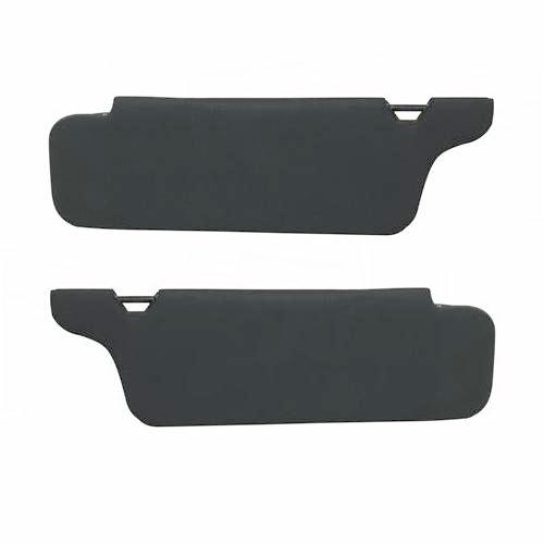 Mustang Sunvisor Pair Without Mirror Dark Charcoal (94-04)