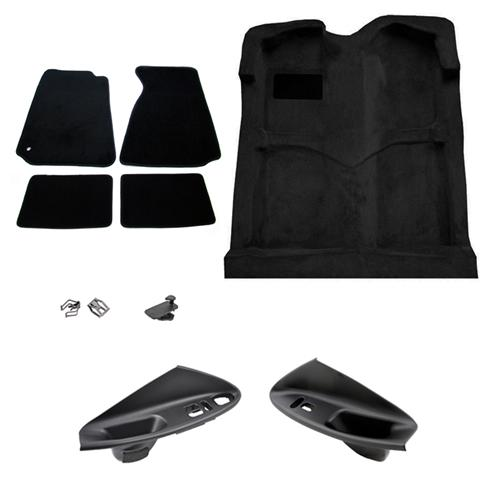 Mustang Interior Restoration Kit Black (94-04) Coupe  - Mustang Interior Restoration Kit Black (94-04) Coupe