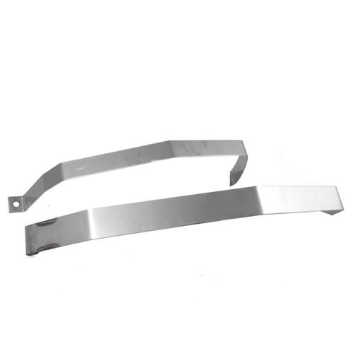 Glenns Mustang Stainless Fuel Tank Straps (94-04) SS02