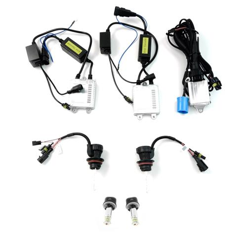 Diode Dynamics Mustang HID Headlight & LED Fog Light Upgrade Kit (94-04)