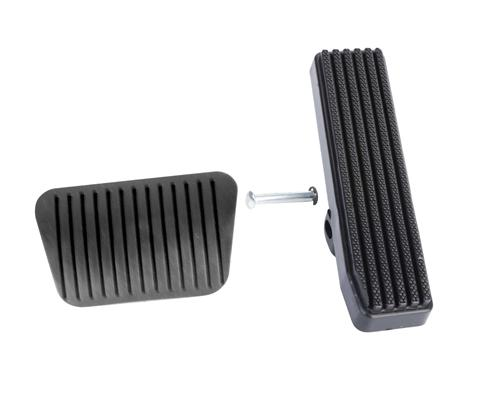 Mustang Pedal Pad Kit for Automatic Transmission (81-93)