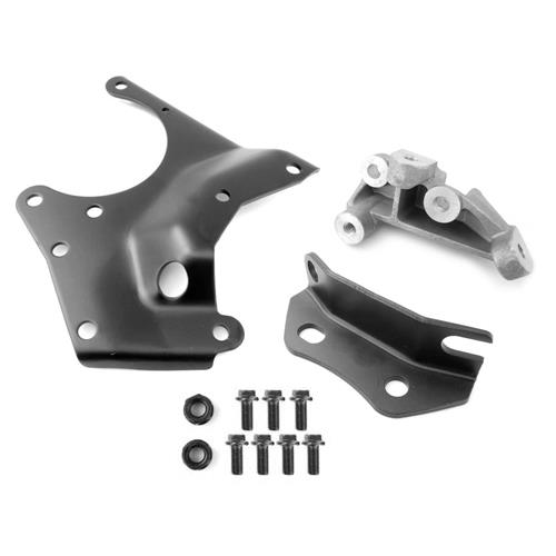 1985-93 Mustang A/C Compressor Bracket & Hardware Kit 5 0 by 5 0 Resto