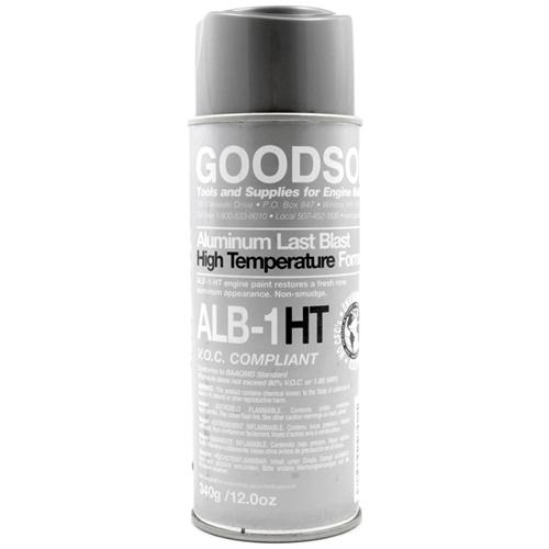 Aluminum Gray High Temp Paint