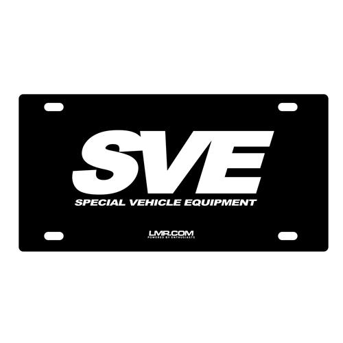 LP30SVE SVE LICENSE PLATE