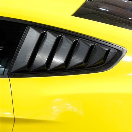 Mustang Quarter Window Louvers (15-17)