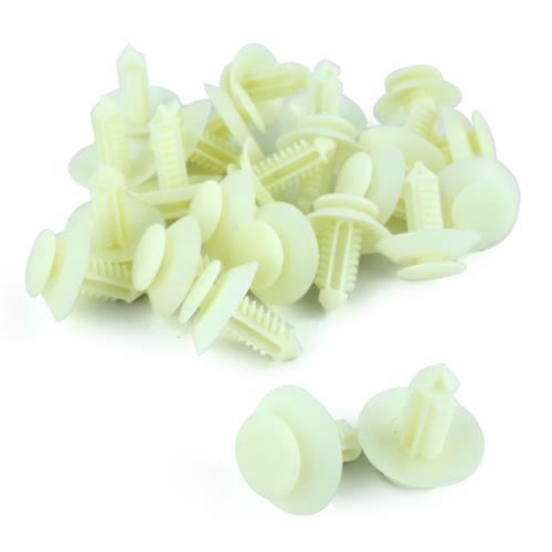 Mustang Door Panel Push Pins 12 Pieces (79-93)
