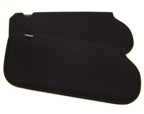 Mustang Sun Visors Black Cloth (85-93) 21-73205-1559