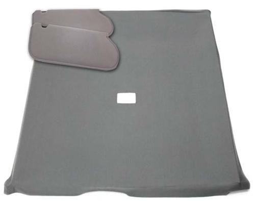 Picture of Mustang Sunvisor And Headliner Kit Dark Gray Cloth (85-86) Hatchback