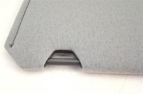 TMI Mustang Sun Visors  Light Gray Cloth (85-86) 21-73205-1808
