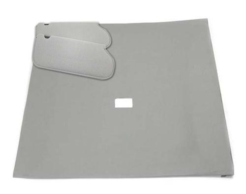 Mustang Sunvisor And Headliner Kit Light Gray Cloth (85-86) Hatchback  - Picture of Mustang Sunvisor And Headliner Kit Light Gray Cloth (85-86) Hatchback
