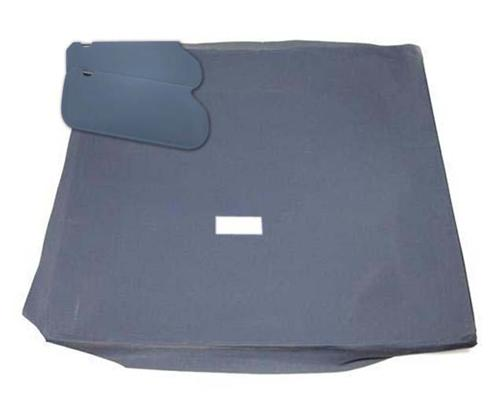 Mustang Sunvisor And Headliner Kit Regatta Blue Cloth (85-89) Hatchback