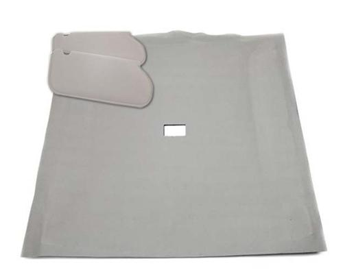 Mustang Sunvisor And Headliner Kit Smoke Gray Cloth (87-89) Hatchback - Picture of Mustang Sunvisor And Headliner Kit Smoke Gray Cloth (87-89) Hatchback