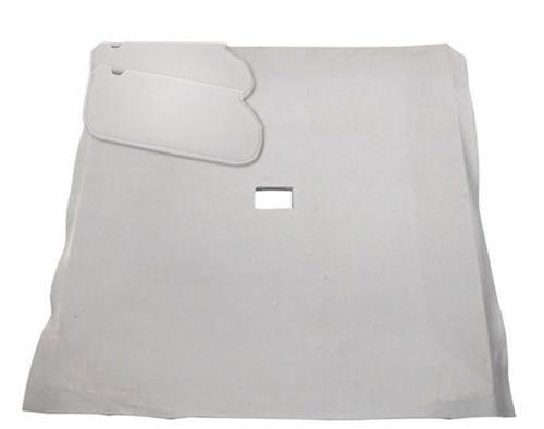 Mustang Sunvisor And Headliner Kit Titanium Gray Cloth (90-92) Hatchback - Picture of Mustang Sunvisor And Headliner Kit Titanium Gray Cloth (90-92) Hatchback