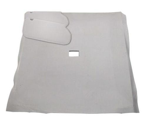 Mustang Sunvisor And Headliner Kit Opal Gray Cloth (1993) Hatchback