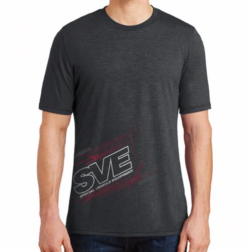 SVE Flex Pattern T-Shirt - Black - Extra Large 130-SVE XL