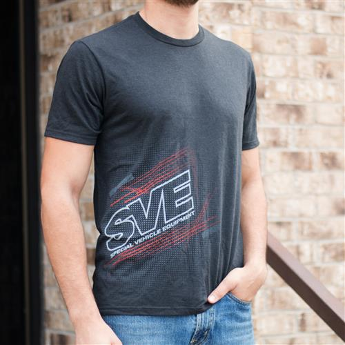 SVE Flex Pattern T-Shirt - Black - XXL 130-SVE XXL