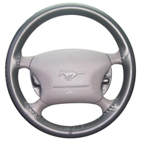 Wheelskin Mustang Steering Wheel Cover Charcoal  (99-04) WS10219AXX