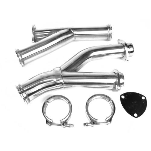 on3 mustang y pipe kit 87 93 ypf lmr com 1987 93 mustang on3 y pipe kit