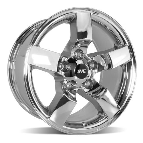 F-150 SVT Lightning Wheel - 18x9.5 Chrome (99-04)