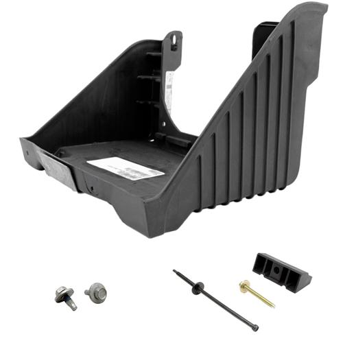 99-04 LIGHTNING BATTERY TRAY KIT, Includes battery tray, mounting hardware, hold down and bolt