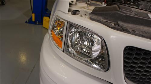 how to change the headlight in a 206 f-150