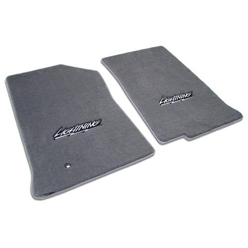 F-150 SVT Lightning Floor Mats with Lightning Logo Dark Graphite  (99-04) 3305270/47661/964/V829050