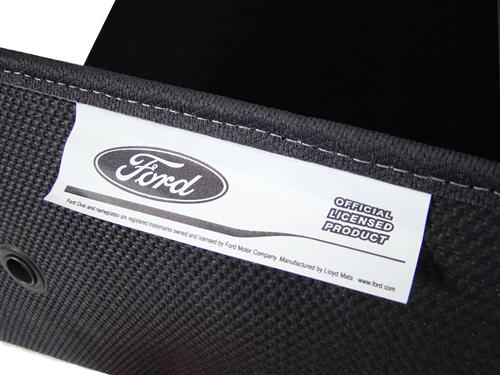 F-150 SVT Lightning Floor Mats with Svt F150 Logo Black  (99-04) 3305270-47661-960-V829055-908