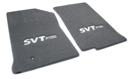 F-150 SVT Lightning Floor Mats with Svt F150 Logo Dark Graphite  (99-04) 3305270-47661-964-V829055-908