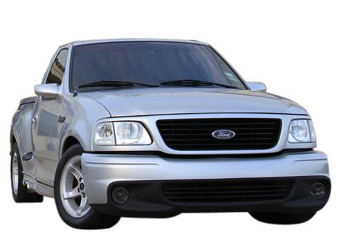 1999-00 Ford Lightning Smoked Fog Light Tint.   Same as SVE-15203S but for 99-00 lightning