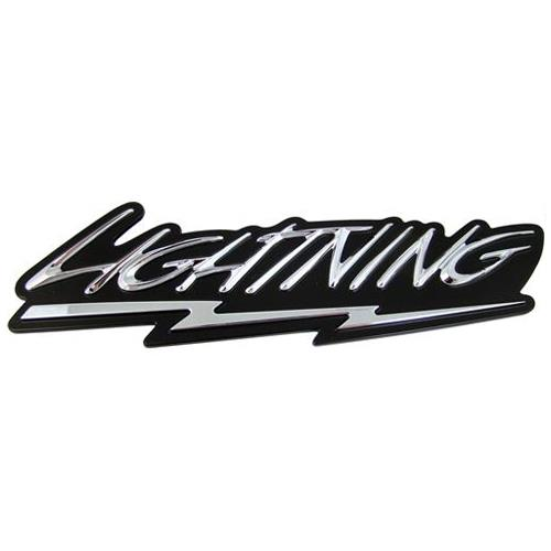 black ford logo. f150 svt lightning fender emblem 9904 black ford logo