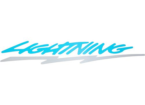 F-150 SVT Lightning Bed Side Decal, LH/RH (93-95)