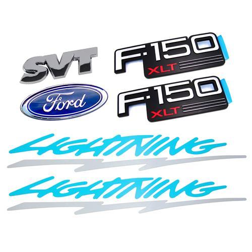 F-150 SVT Lightning Emblem Kit