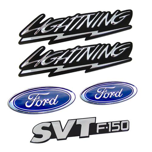 1999-2004 FORD LIGHTNING EXTERIOR EMBLEM KIT