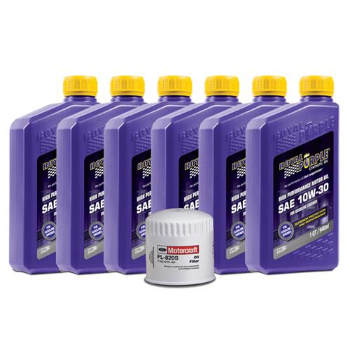 F-150 SVT Lightning Royal Purple Oil Change Kit - 10w30 (93-95)