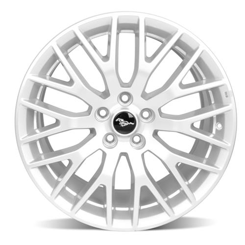 Ford Racing Mustang GT Performance Pack Front Wheel 19x9 Sparkle Silver (15-16) M-1007-M199S