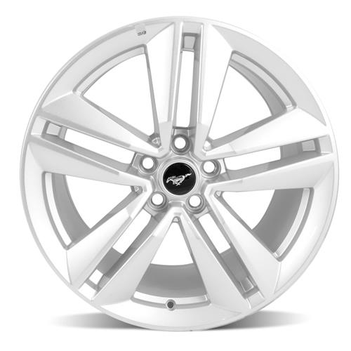 "Ford Racing Mustang EcoBoost Performance Package Wheel 19x9"" Sparkle Silver (15-16) M-1007-M199SA"