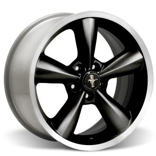 Ford Racing Mustang Bullitt Wheel 18X8.5  Black  (05-15) M-1007-S1885B