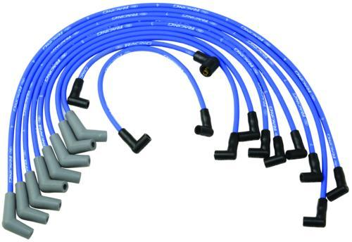 Ford Racing Mustang Plug Wire Set Blue (79-95) M-12259-C301