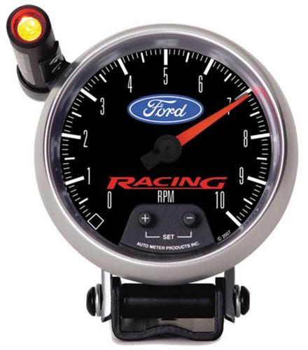 "Ford Racing Tachometer w/ Shift Light - 3-3/4"" M-17360-B"