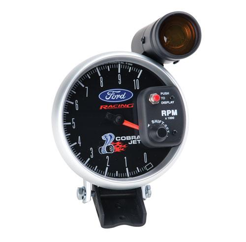 Ford Racing Cobra Jet Tachometer with Shift Lite, M-17360-SCJ