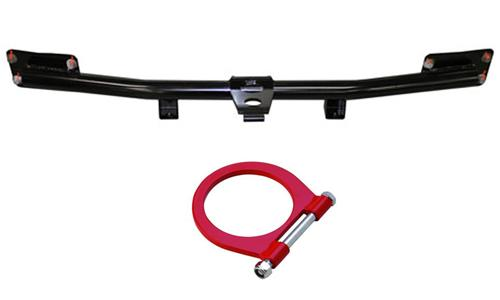 Ford Racing Mustang Tubular Front Bumper Bar & Tow Hook  (05-14) M-17757-MB