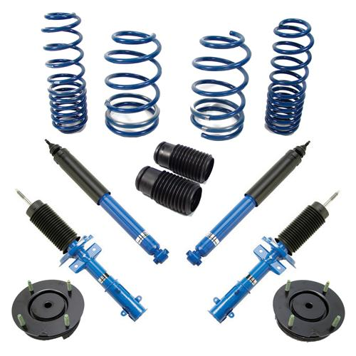 Ford Racing Mustang Adjustable Strut, Shock And Spring Kit. (05-14)